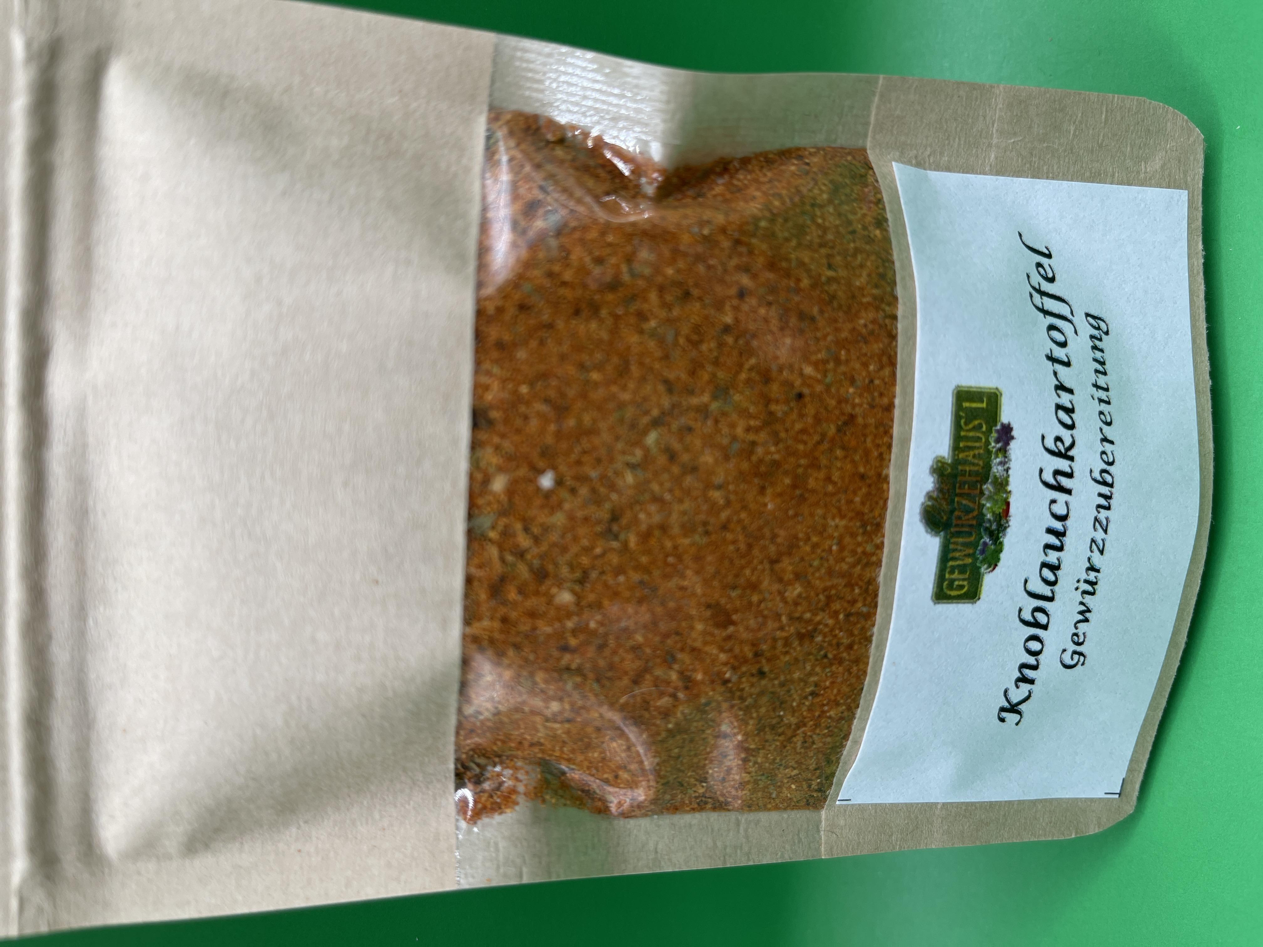 Knoblauchkartoffel-Gewürzzubereitung 50 g