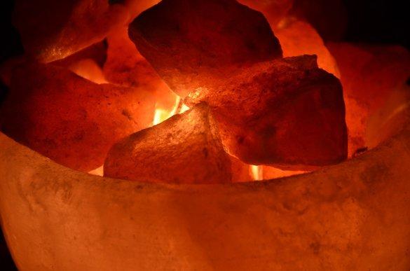 Naturkristallsalz Brocken aus Pakistan 500g