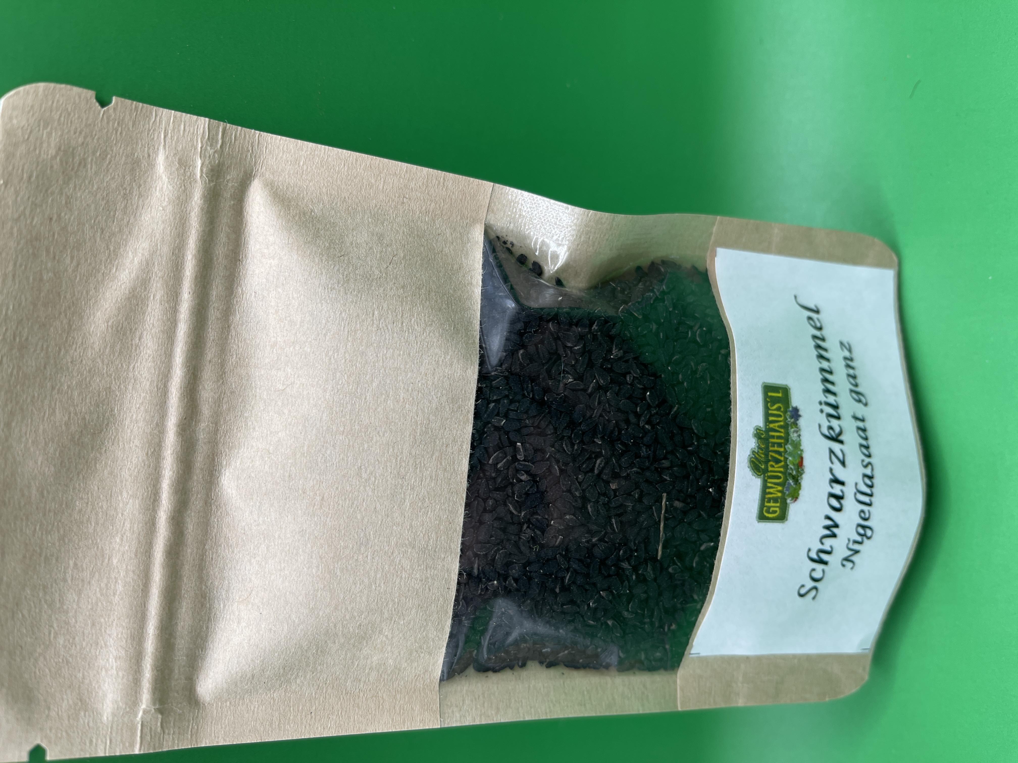 Schwarzkümmel Nigellasaat 40g