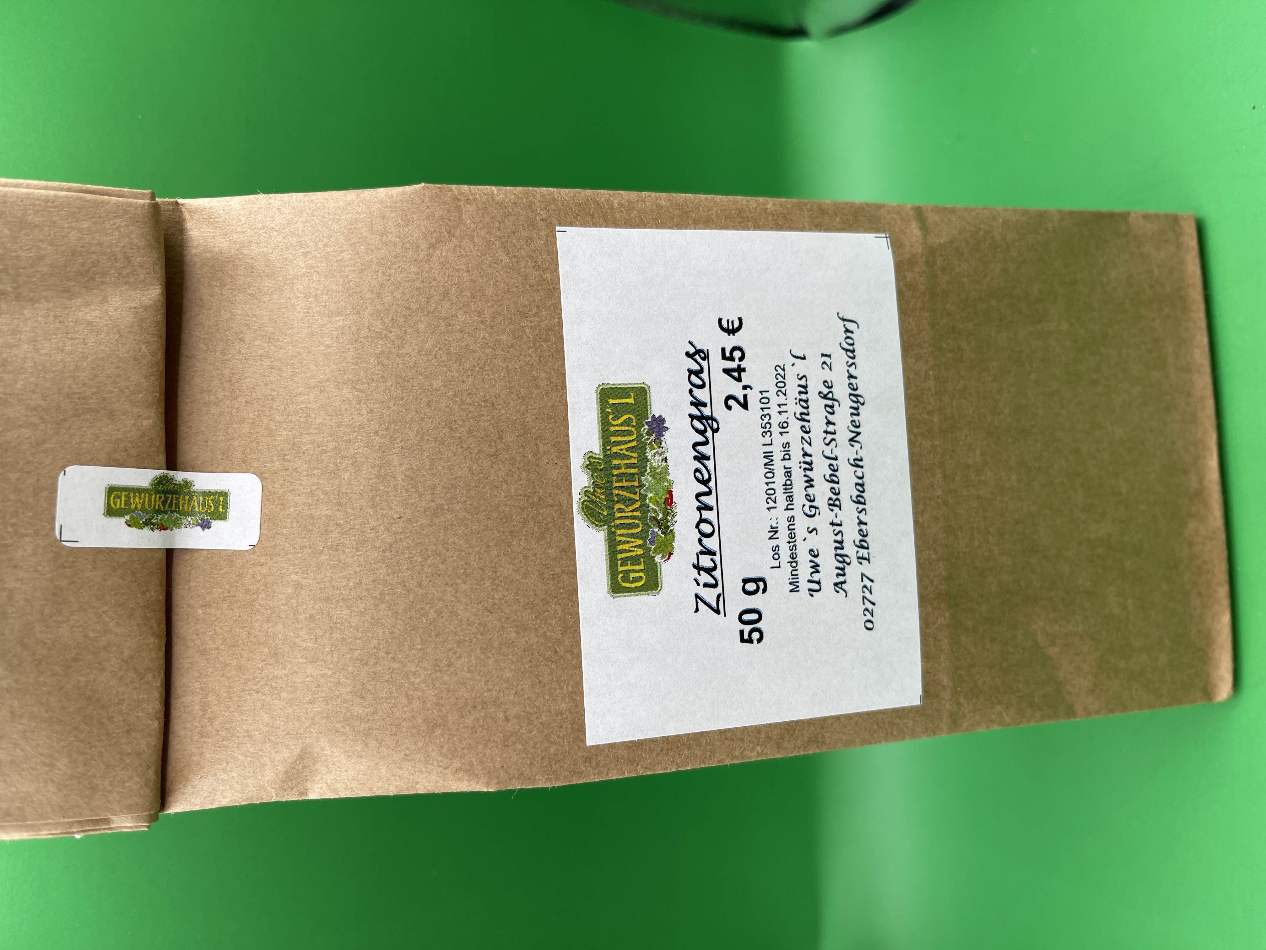 Zitronengras 50g