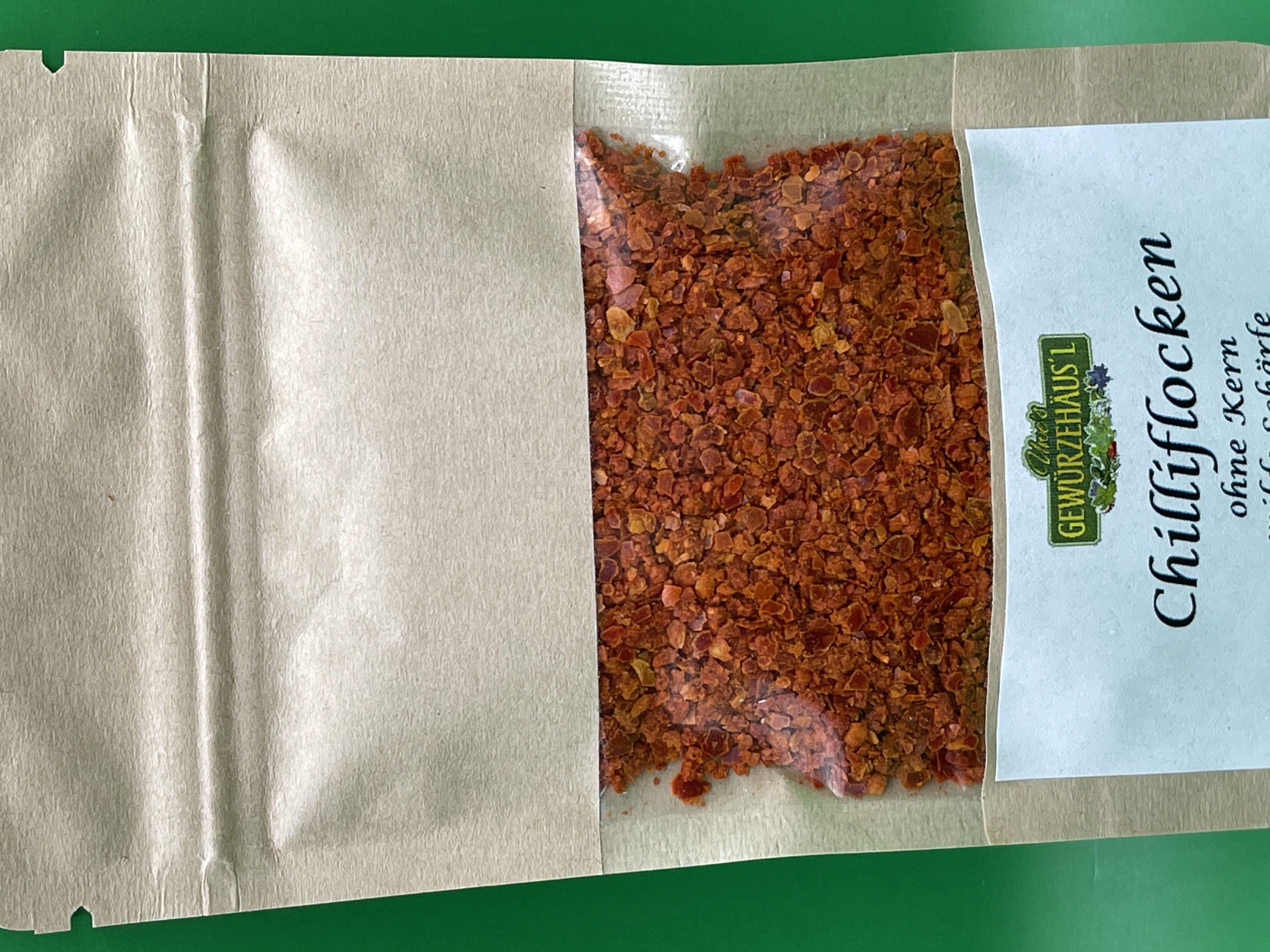 Chilliflocken ohne Kerne 25 g