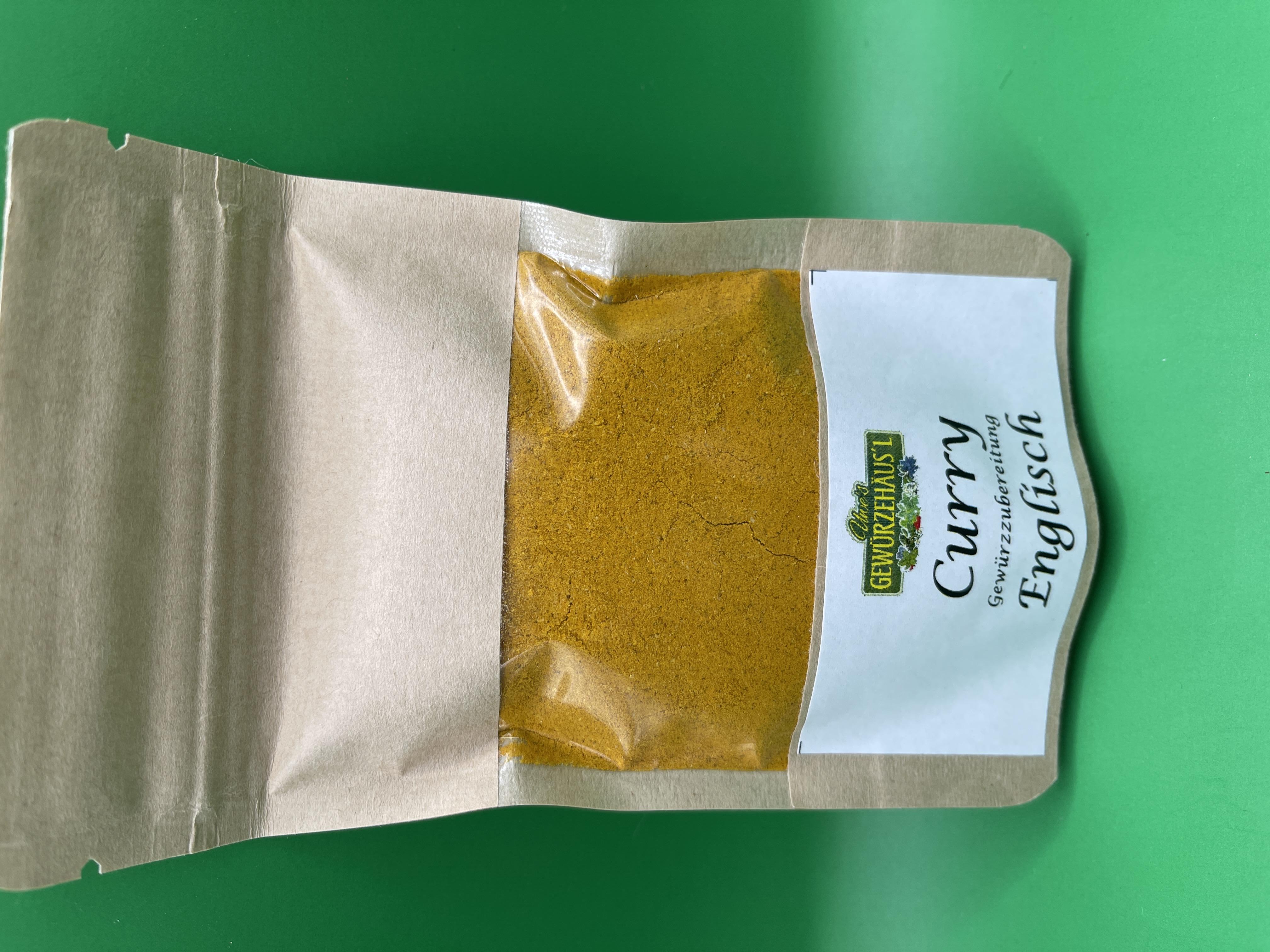 Curry English  40g
