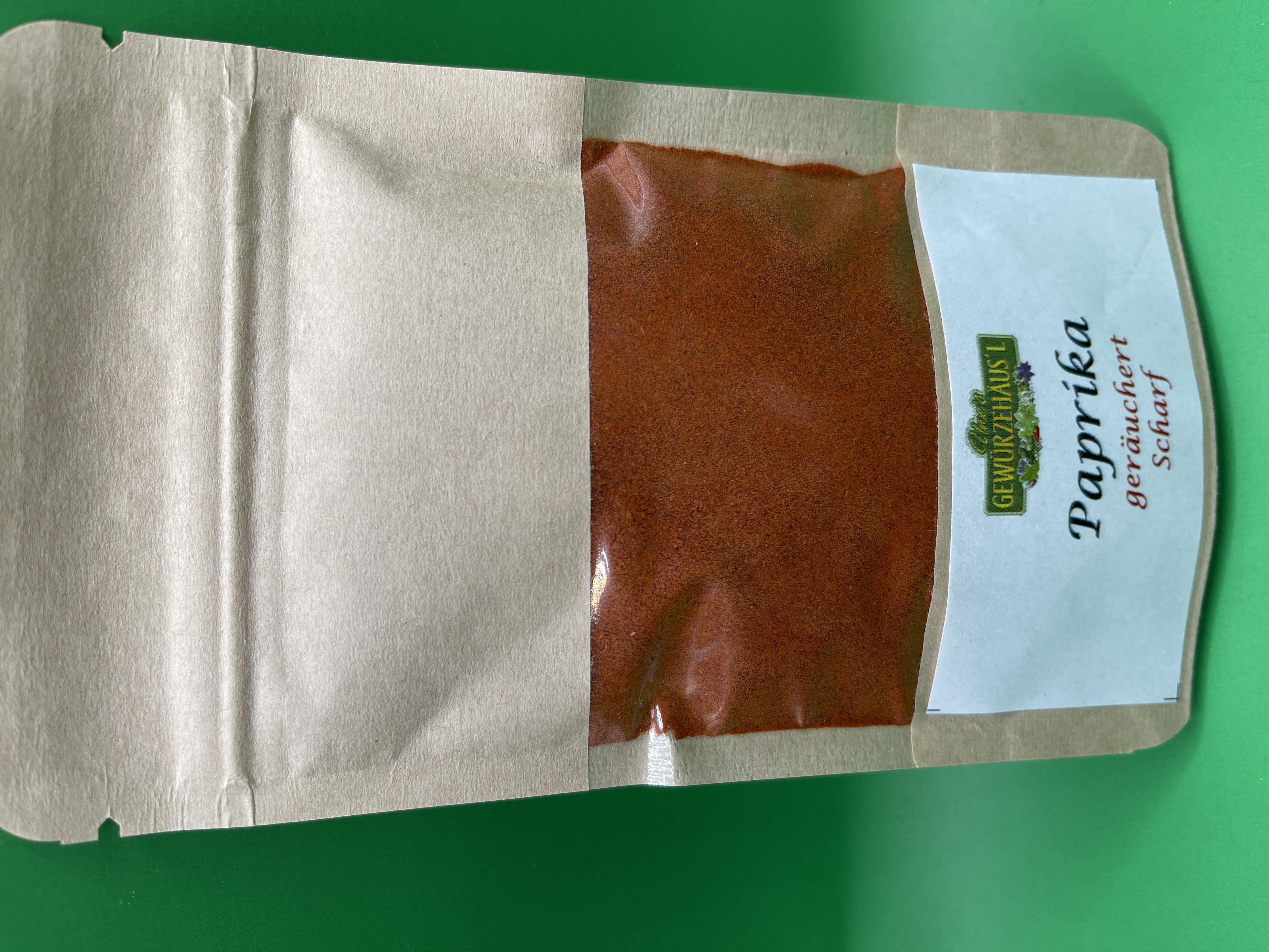 Paprika geräuchert Scharf 45 g